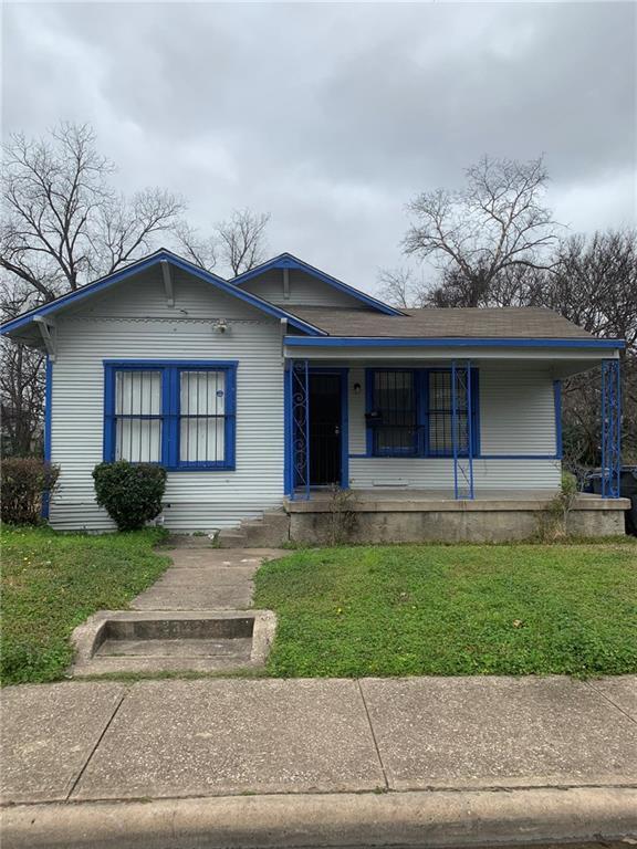 2321 Greer Street, Dallas, TX 75215 (MLS #14004883) :: Baldree Home Team