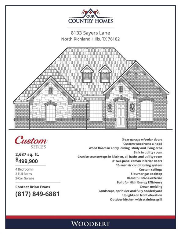 8133 Sayers Lane, North Richland Hills, TX 76182 (MLS #14006573) :: Real Estate By Design