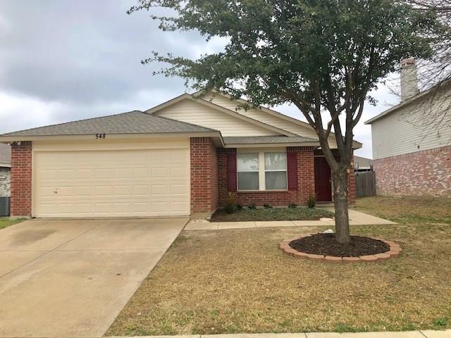 548 Keble Drive, Fort Worth, TX 76036 (MLS #14020706) :: NewHomePrograms.com LLC