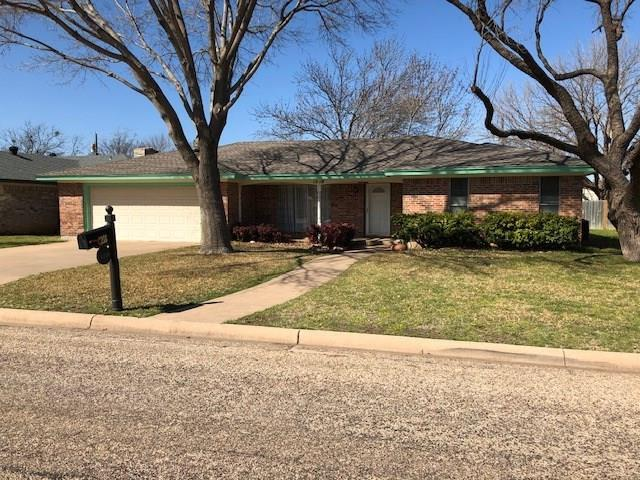 1218 Chriswood Drive, Abilene, TX 79601 (MLS #14022546) :: RE/MAX Town & Country