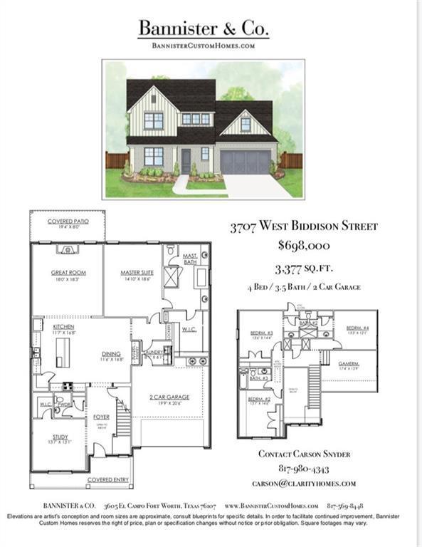 3707 W Biddison Street, Fort Worth, TX 76109 (MLS #14031233) :: Real Estate By Design