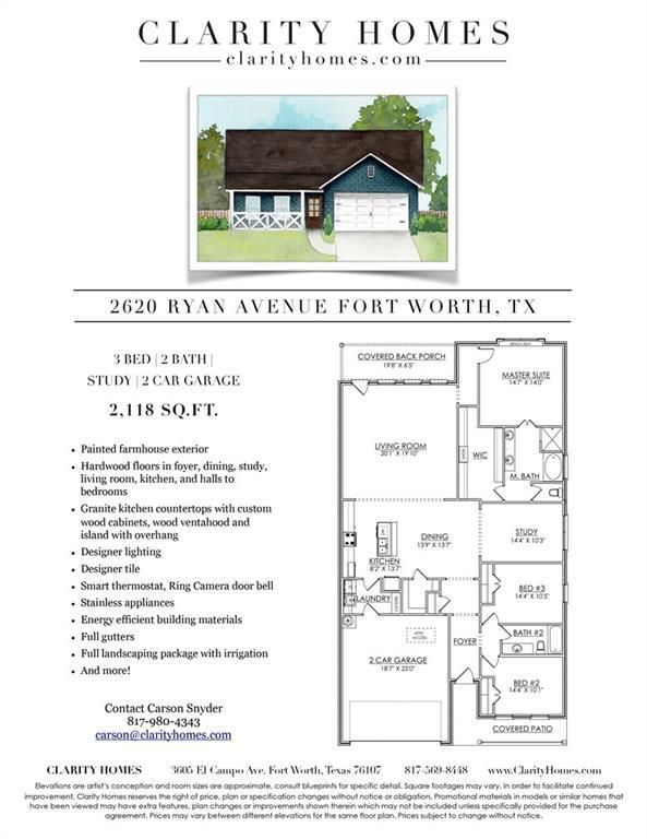 2620 Ryan Avenue, Fort Worth, TX 76110 (MLS #14045143) :: RE/MAX Town & Country