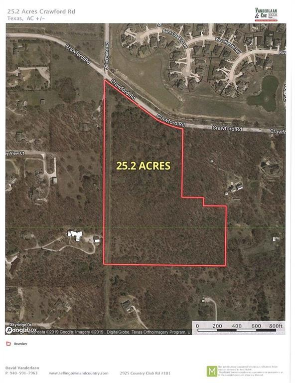 TBD 1 Crawford Road, Argyle, TX 76226 (MLS #14047748) :: Kimberly Davis & Associates