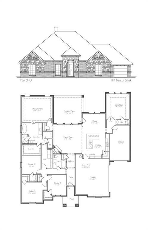 1114 Denton Creek Drive, Justin, TX 76247 (MLS #14070224) :: Roberts Real Estate Group