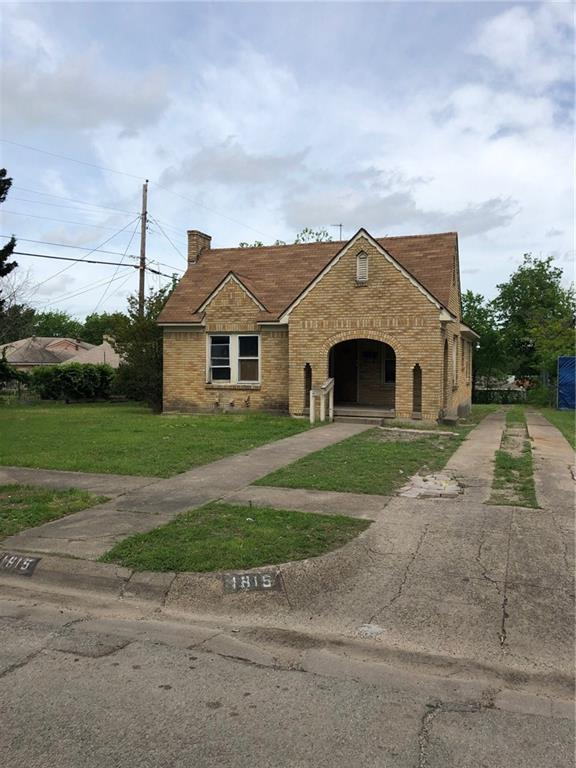1815 Norfolk Avenue, Dallas, TX 75203 (MLS #14071228) :: Robbins Real Estate Group