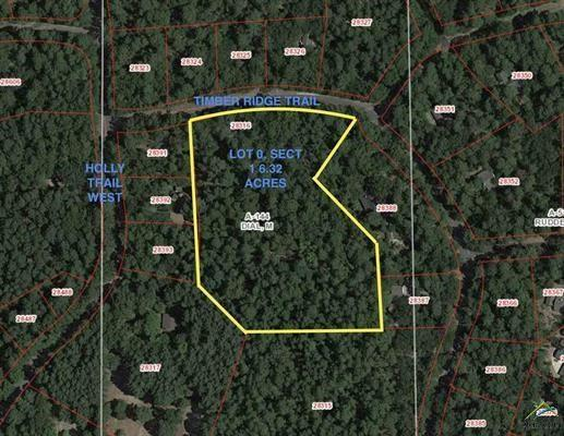 TBD Timber Ridge Trail, Holly Lake Ranch, TX 75765 (MLS #14086618) :: The Sarah Padgett Team
