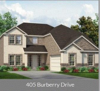 405 Burberry Drive, Grand Prairie, TX 75052 (MLS #14092553) :: The Tierny Jordan Network