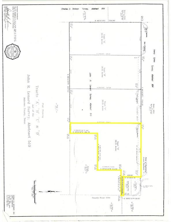 LOT D County Road 1014, Joshua, TX 76058 (MLS #14094653) :: Potts Realty Group