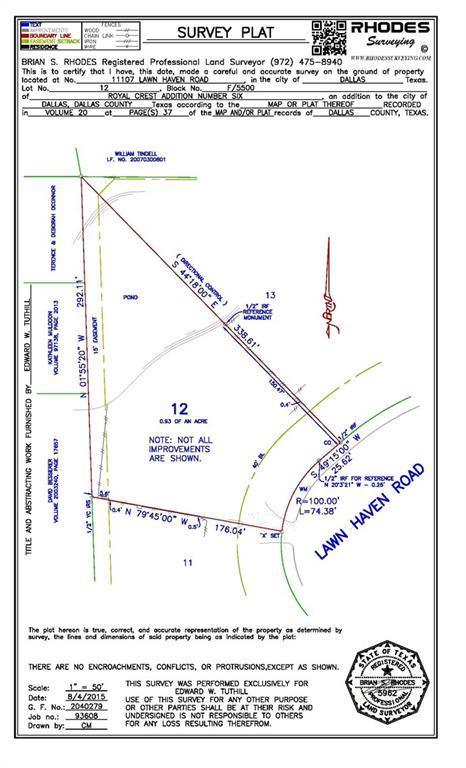 11107 Lawnhaven Road, Dallas, TX 75230 (MLS #14095235) :: Robbins Real Estate Group
