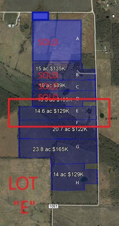 Lot E Cr 1091, Celeste, TX 75423 (MLS #14098347) :: Vibrant Real Estate
