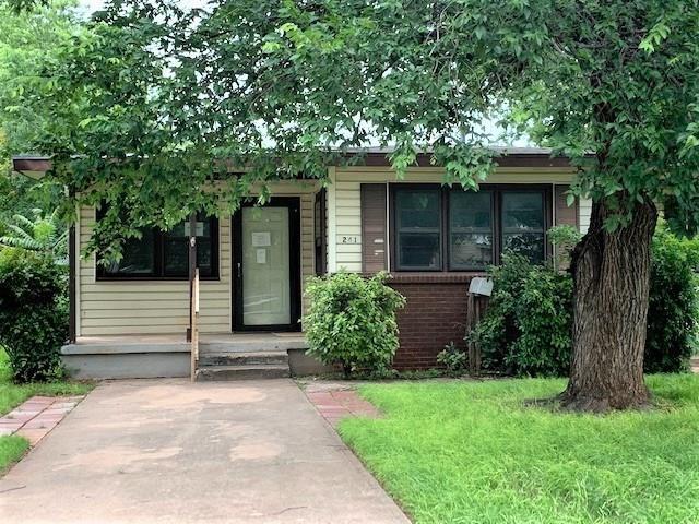1241 Fannin Street, Abilene, TX 79603 (MLS #14099230) :: Ann Carr Real Estate
