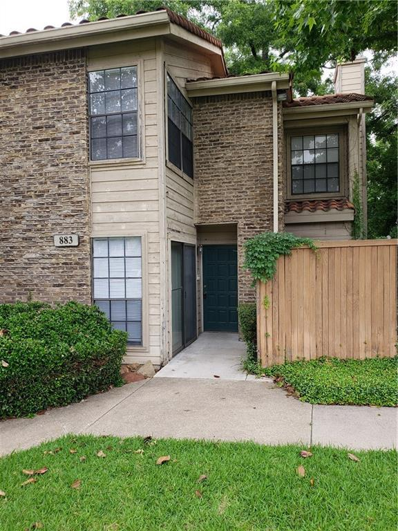883 Waterfall Way #2, Richardson, TX 75080 (MLS #14108172) :: RE/MAX Landmark