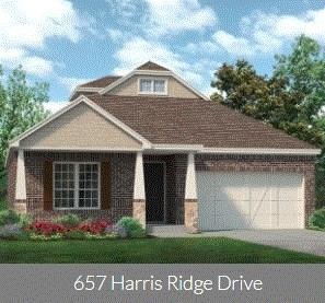 657 Harris Ridge Drive, Arlington, TX 76002 (MLS #14115524) :: Kimberly Davis & Associates