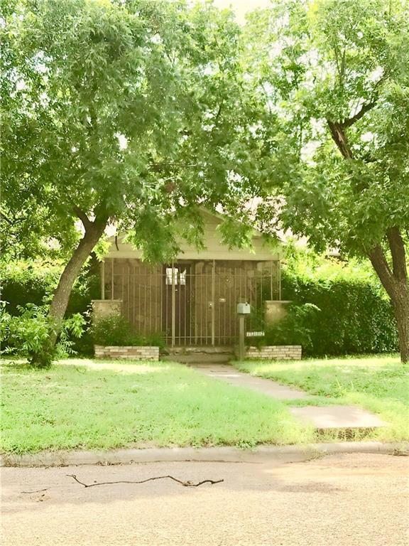 1342 Marshall Street, Abilene, TX 79605 (MLS #14117971) :: The Tonya Harbin Team