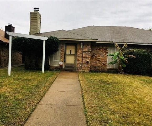606 Lost Springs Court, Arlington, TX 76012 (MLS #14122832) :: The Heyl Group at Keller Williams