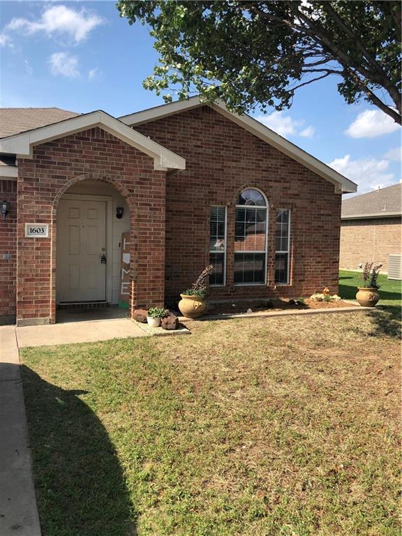 1603 Appaloosa Drive, Krum, TX 76249 (MLS #14123872) :: The Heyl Group at Keller Williams
