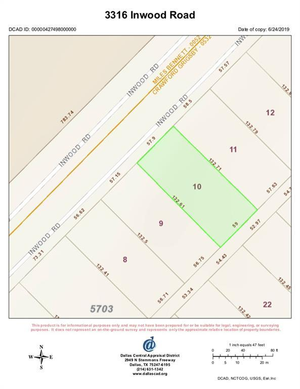 3316 Inwood Road, Dallas, TX 75235 (MLS #14123989) :: Kimberly Davis & Associates
