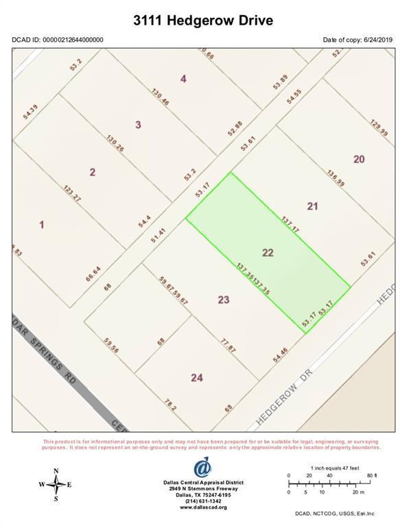 3111 Hedgerow Drive, Dallas, TX 75235 (MLS #14124580) :: Van Poole Properties Group