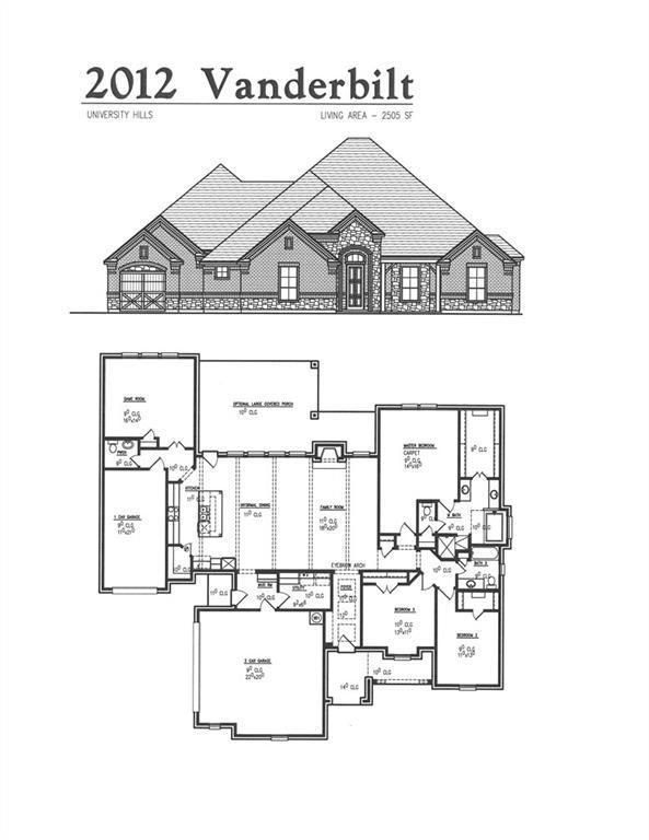 2012 Vanderbilt Drive, Weatherford, TX 76088 (MLS #14127414) :: The Heyl Group at Keller Williams
