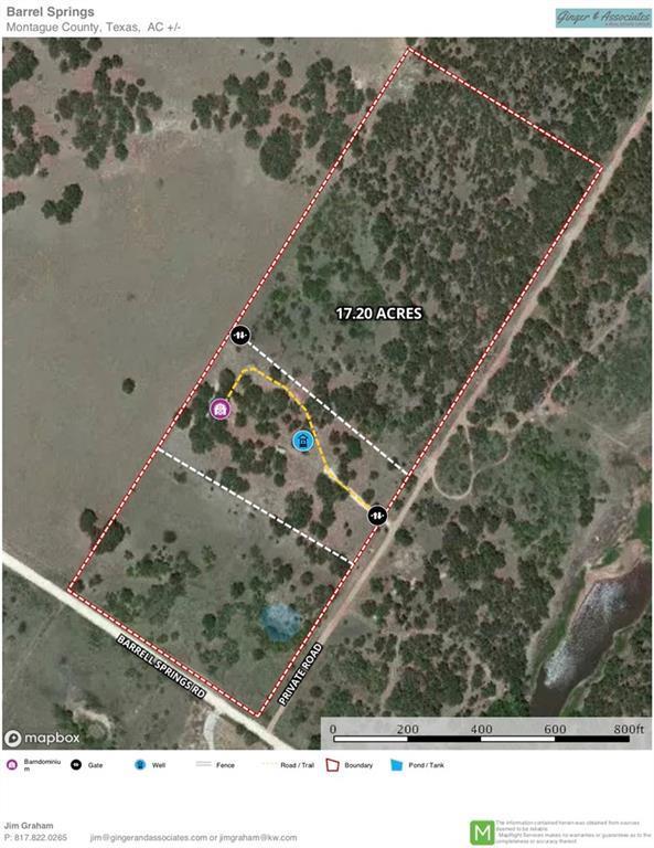 Lot 4-7 Barrel Springs, Nocona, TX 76255 (MLS #14135909) :: Lynn Wilson with Keller Williams DFW/Southlake