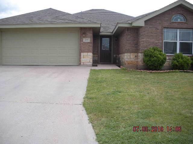 289 Lollipop Trail, Abilene, TX 79602 (MLS #14135931) :: The Chad Smith Team