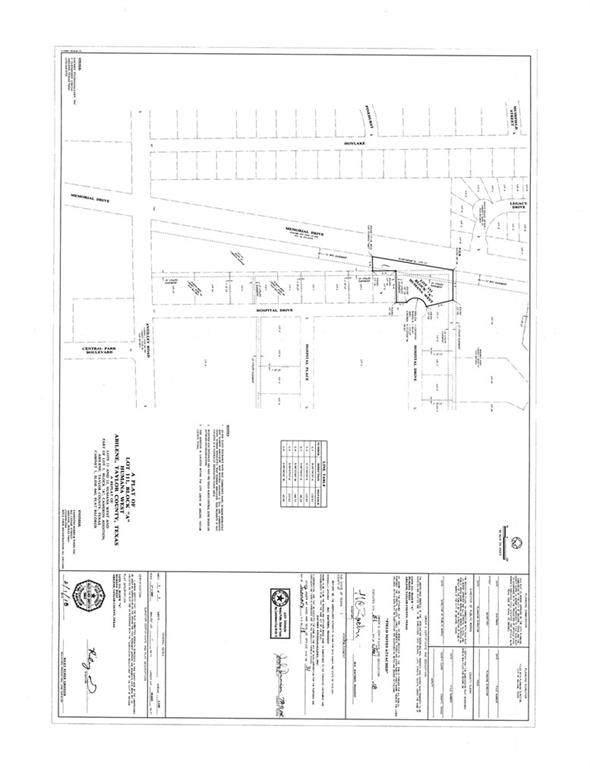 11 Hospital Drive, Abilene, TX 79606 (MLS #14138763) :: RE/MAX Landmark