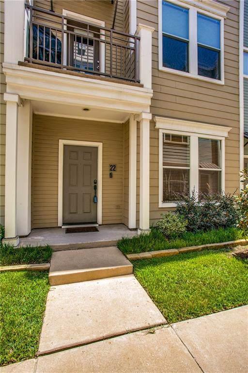 4121 Mckinney Avenue #22, Dallas, TX 75204 (MLS #14145152) :: Vibrant Real Estate