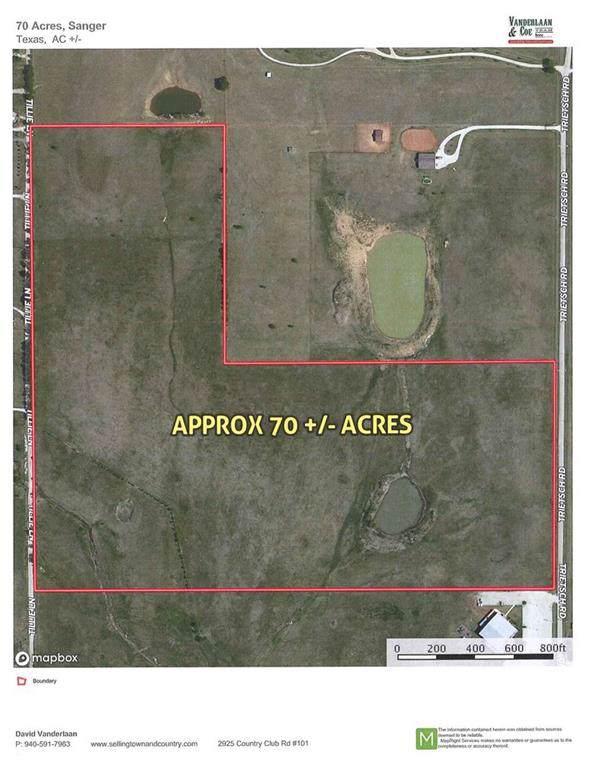 TBD Trietsch Road, Sanger, TX 76266 (MLS #14158146) :: Trinity Premier Properties