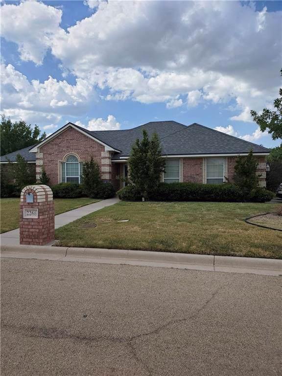 2266 Old Ironsides Road, Abilene, TX 79601 (MLS #14163778) :: The Heyl Group at Keller Williams