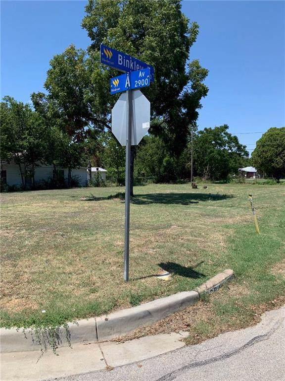 2921 Avenue A, Fort Worth, TX 76105 (MLS #14167195) :: Baldree Home Team