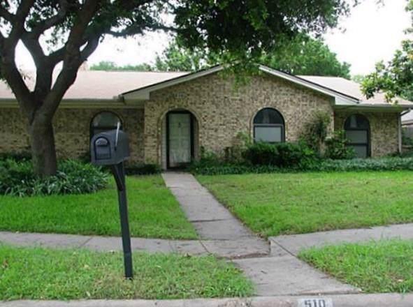 510 Perdido Drive, Garland, TX 75043 (MLS #14168854) :: NewHomePrograms.com LLC