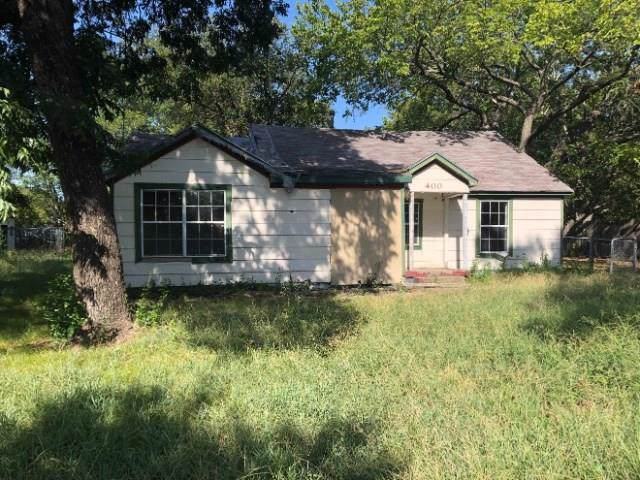 400 S Boyce Drive, Garrett, TX 75119 (MLS #14170376) :: The Paula Jones Team | RE/MAX of Abilene