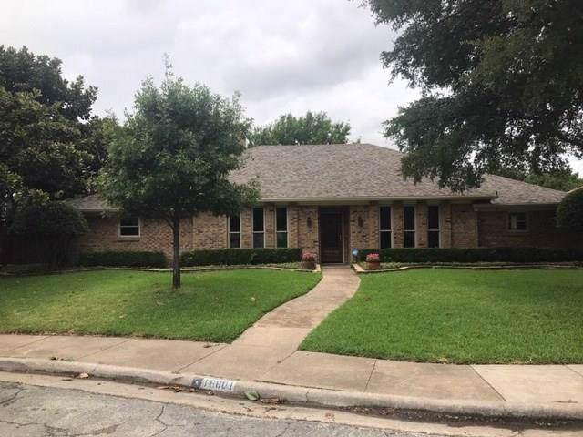 16801 Thomas Chapel Drive, Dallas, TX 75248 (MLS #14175610) :: RE/MAX Landmark