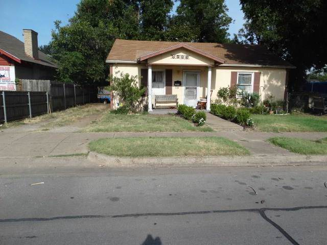 523 N Riverside Drive, Fort Worth, TX 76111 (MLS #14177355) :: RE/MAX Town & Country