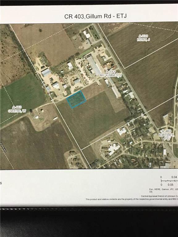 TBD County Rd 403/Gillum Road, Grandview, TX 76050 (MLS #14178358) :: Potts Realty Group
