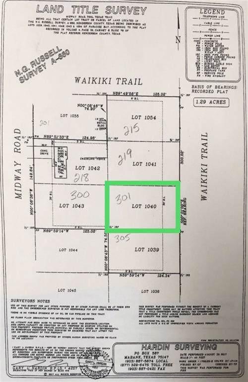 TBD Waikiki Trail, Tool, TX 75143 (MLS #14178690) :: The Real Estate Station
