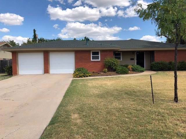 1525 Glenwood Drive, Abilene, TX 79605 (MLS #14179573) :: The Good Home Team