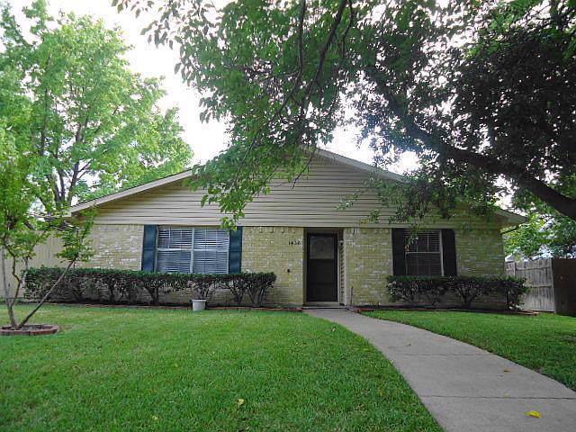 1436 Waterton Drive, Plano, TX 75023 (MLS #14181856) :: Vibrant Real Estate