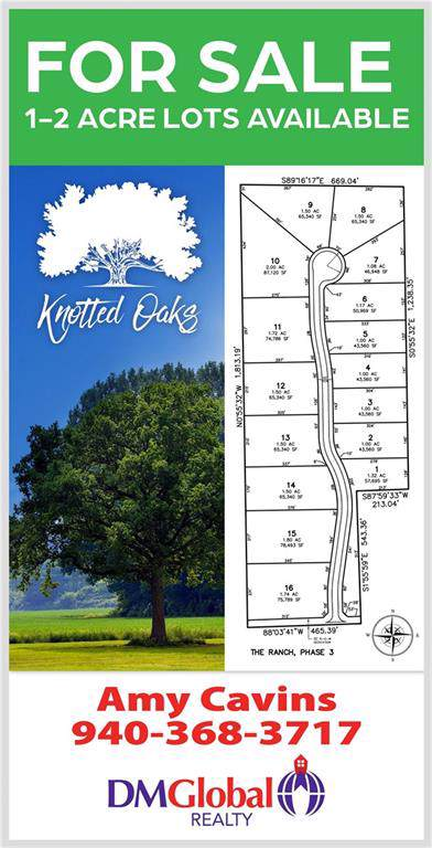 Lot 10 Knotted Oaks Way Road, Valley View, TX 76272 (MLS #14186483) :: RE/MAX Town & Country