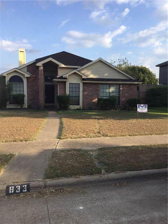 833 Weaver Street, Cedar Hill, TX 75104 (MLS #14187931) :: RE/MAX Town & Country