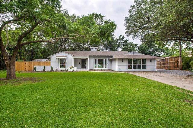 4214 Northcrest Road, Dallas, TX 75229 (MLS #14202057) :: RE/MAX Town & Country