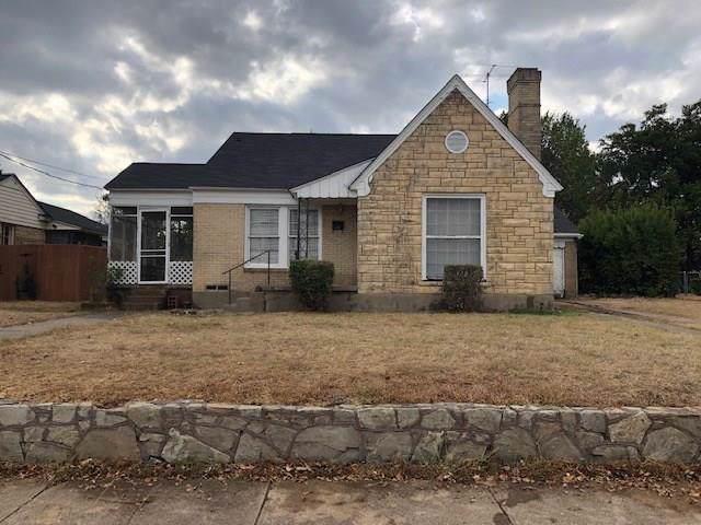619 N Oak Cliff Boulevard, Dallas, TX 75208 (MLS #14204911) :: Lynn Wilson with Keller Williams DFW/Southlake