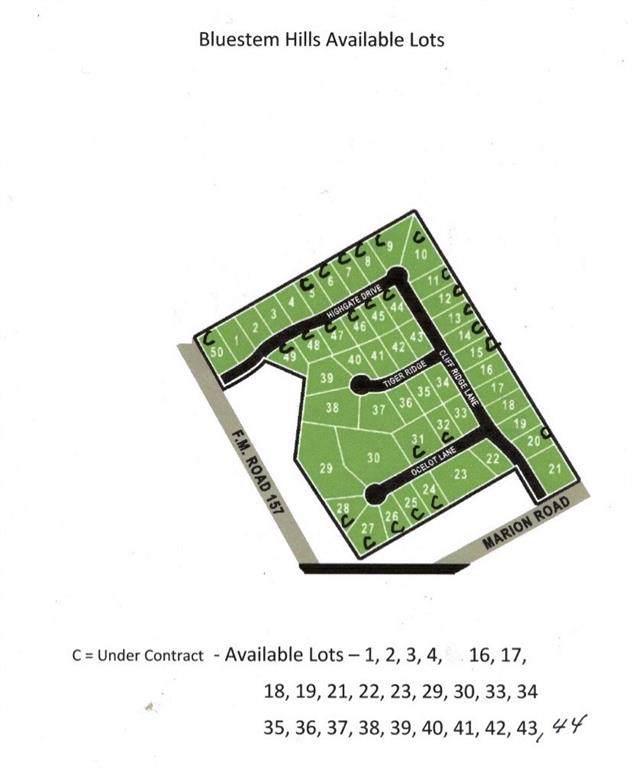 16-19, Cliffridge Lane, Venus, TX 76084 (MLS #14212160) :: Lynn Wilson with Keller Williams DFW/Southlake