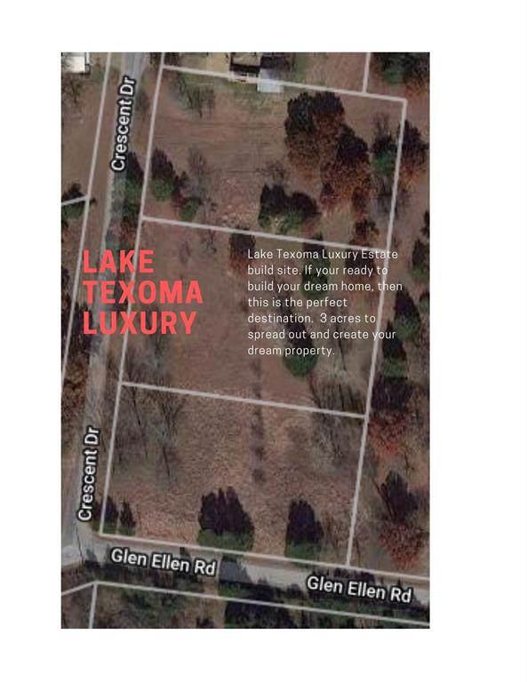 TBD Crescent Drive, Pottsboro, TX 75076 (MLS #14212292) :: RE/MAX Town & Country