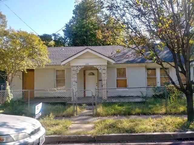 1218 Ranier Street, Dallas, TX 75208 (MLS #14212972) :: Tenesha Lusk Realty Group