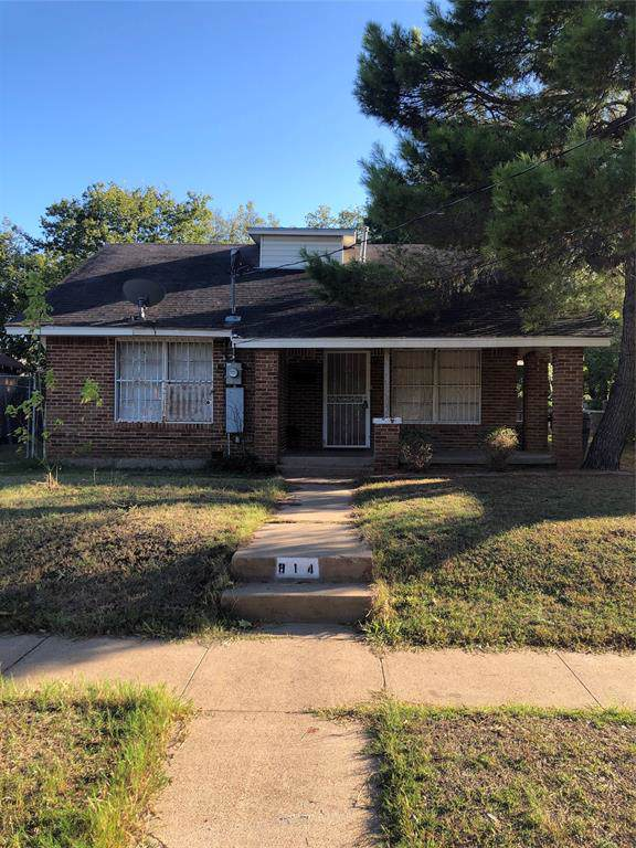 814 Winters Street, Dallas, TX 75216 (MLS #14213087) :: All Cities Realty