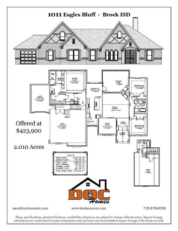 1011 Eagles Bluff, Brock, TX 76087 (MLS #14220796) :: The Daniel Team