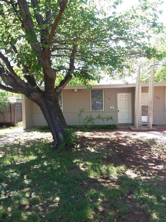 718 High Street, Abilene, TX 79603 (MLS #14223434) :: The Chad Smith Team