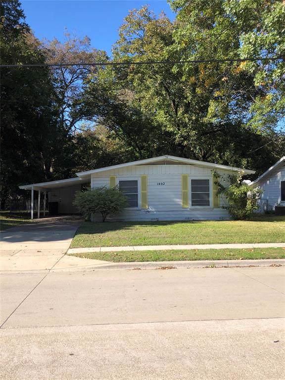 1402 W Collin Street, Corsicana, TX 75110 (MLS #14225459) :: The Rhodes Team