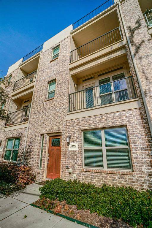 1309 Palm Canyon Drive, Dallas, TX 75204 (MLS #14226080) :: The Chad Smith Team